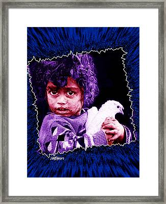 Just Another Dirty Face Framed Print by Seth Weaver
