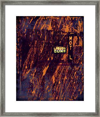 Just Another Night Framed Print by Bob Orsillo