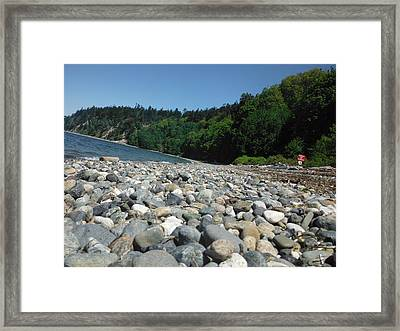 Just Beachy Framed Print by Lori Thompson