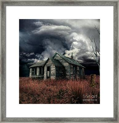 Just Before The Storm Framed Print by Aimelle