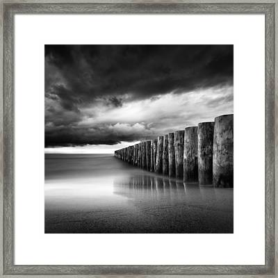 Just Before The Storm Framed Print by Martin Flis