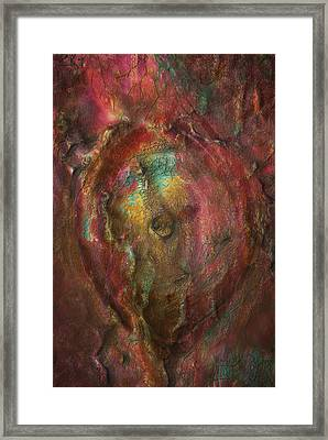 Just Below Framed Print by Jack Zulli