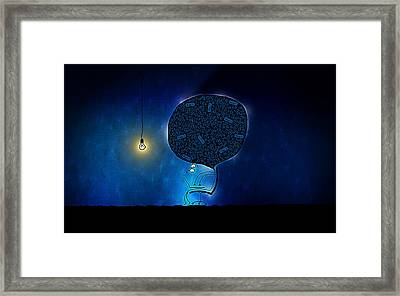 Just Digg It Framed Print by Gianfranco Weiss