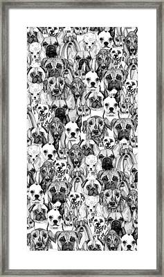 Just Dogs Framed Print by Sharon Turner