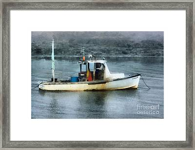 Just Enough Framed Print by Helene Guertin