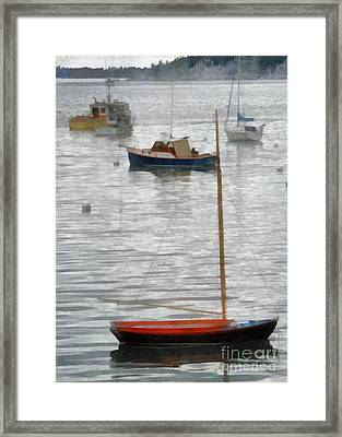 Just For Fun Framed Print by Helene Guertin