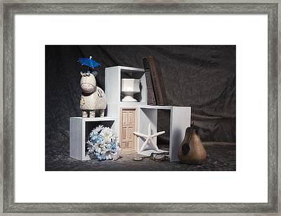 Just For Fun Still Life Framed Print by Tom Mc Nemar