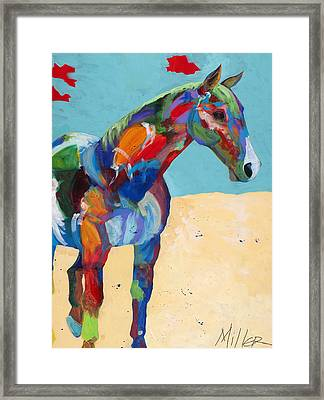 Just Hangin Around Framed Print by Tracy Miller