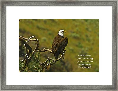 Just Knowing Framed Print by Jeff Swan