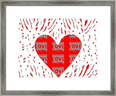 Just Love Framed Print by Helena Tiainen