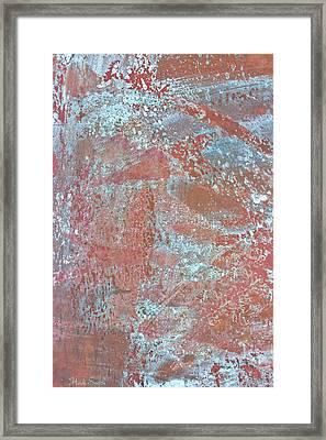 Just Rust Framed Print by Heidi Smith
