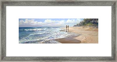 Just We Two Framed Print by Laurie Hein