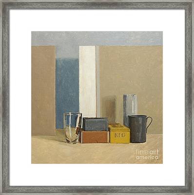K L G Framed Print by William Packer