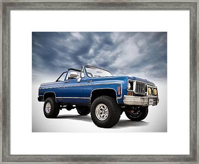 K5 Blazer Framed Print by Douglas Pittman