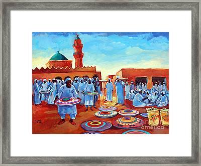 Kadabas Framed Print by Mohamed Fadul