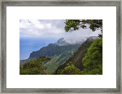 Kalalau Valley 5 - Kauai Hawaii Framed Print by Brian Harig