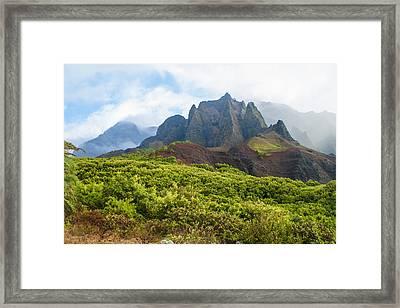 Kalalau Valley - Kauai Hawaii Framed Print by Brian Harig