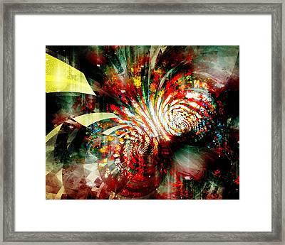 Kaleidoscope Framed Print by Anastasiya Malakhova