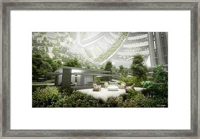 Kalpana One Living Room Framed Print by Bryan Versteeg