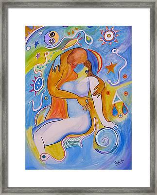 Kamasutra-2 Framed Print by Seshadri Sreenivasan