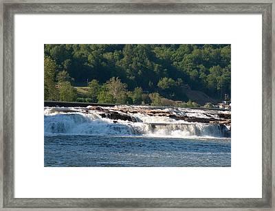 Kanawah Falls I - Spring Framed Print by Paulette B Wright