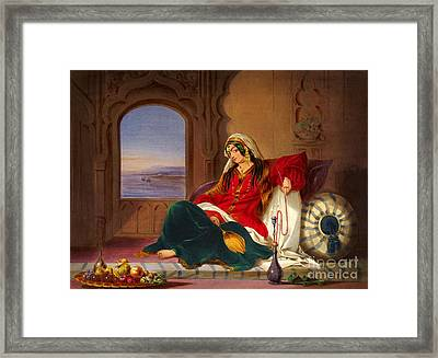 Kandahar Lady Of Ranks Framed Print by Celestial Images