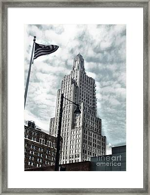 Kansas City - 06 Framed Print by Gregory Dyer