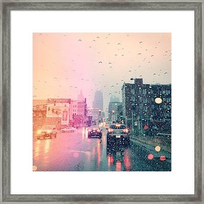 Kansas City #1 Framed Print by Stacia Blase