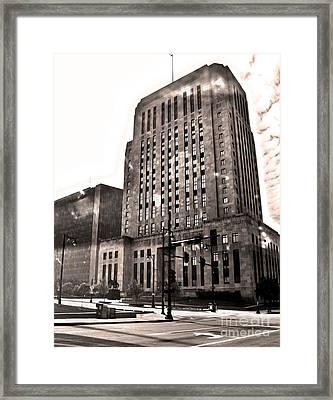 Kansas City - 10 Framed Print by Gregory Dyer