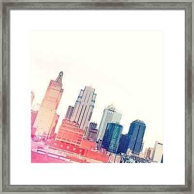 Kansas City #4 Framed Print by Stacia Blase