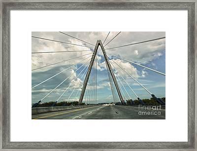 Kansas City Bridge - 01 Framed Print by Gregory Dyer