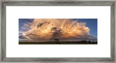 Kansas Storm Cloud Framed Print by Scott Bean
