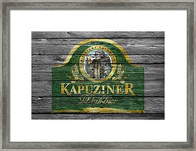 Kapuziner Framed Print by Joe Hamilton