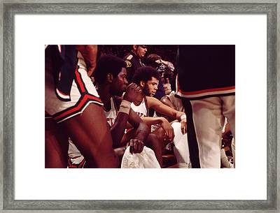Kareem Abdul Jabbar  Framed Print by Retro Images Archive