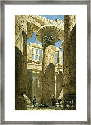 Karnak Framed Print by Richard Phene Spiers