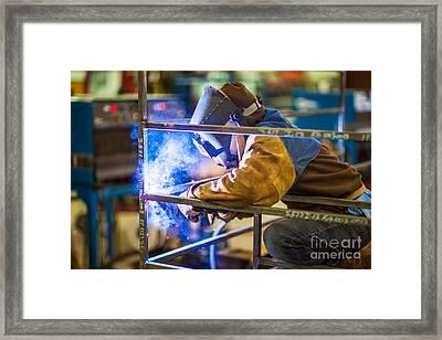 Kat001-30 Framed Print by Cooper Ross