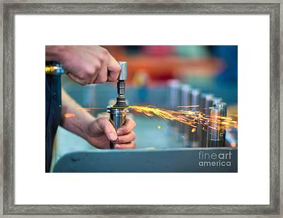 Kat001-60 Framed Print by Cooper Ross