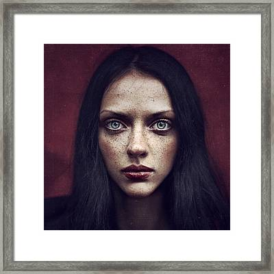 Kate Framed Print by Anka Zhuravleva