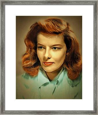 Katherine The  Great Framed Print by Anthony Caruso