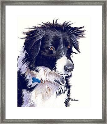 Katie Framed Print by JK Dooley