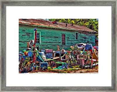 Katrina Memory Framed Print by Steve Harrington