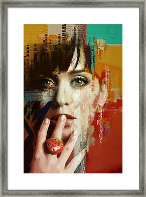 Katy Perry Framed Print by Corporate Art Task Force
