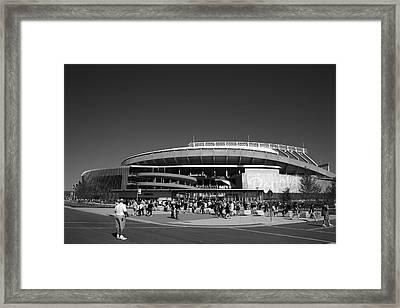 Kauffman Stadium - Kansas City Royals 2 Framed Print by Frank Romeo