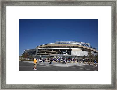 Kauffman Stadium - Kansas City Royals Framed Print by Frank Romeo
