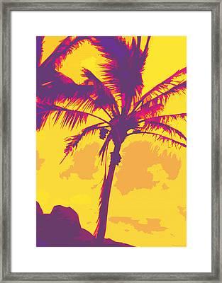 Kauluwela Moku 27 Framed Print by Kenneth Grzesik
