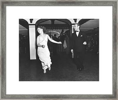 Kay Parson's Showboat Dancers Framed Print by Underwood Archives