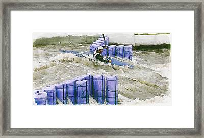 Kayak  Framed Print by Pati Photography