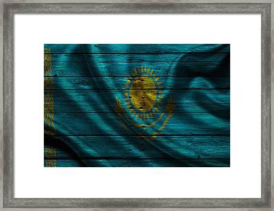 Kazakhstan Framed Print by Joe Hamilton