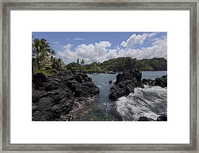 Keanae Framed Print by James Roemmling