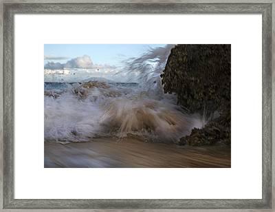 Keem Beach Timing Ireland Framed Print by Betsy Knapp
